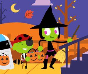 PBS Kids Celebrates Halloween