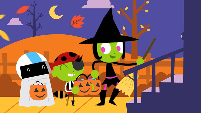 PBS Kids Celebrates Halloween