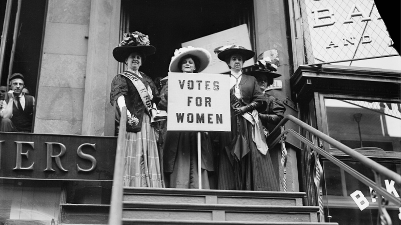 New Four-Hour Documentary Tells the 100-Year-Old Story of Women's Fight for the Right to Vote