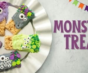 Adorable Monster Treats