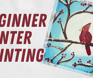 Beginner Winter Painting