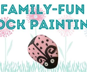 Family-Friendly Rock Painting
